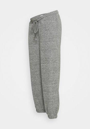 MLCAILA PANTS - Tracksuit bottoms - grey melange