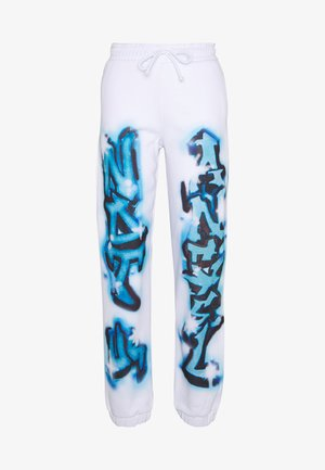 CUFFED JOGGERS NOT YOUR - Tracksuit bottoms - blue