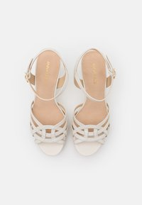 Anna Field - LEATHER - High heeled sandals - white - 5