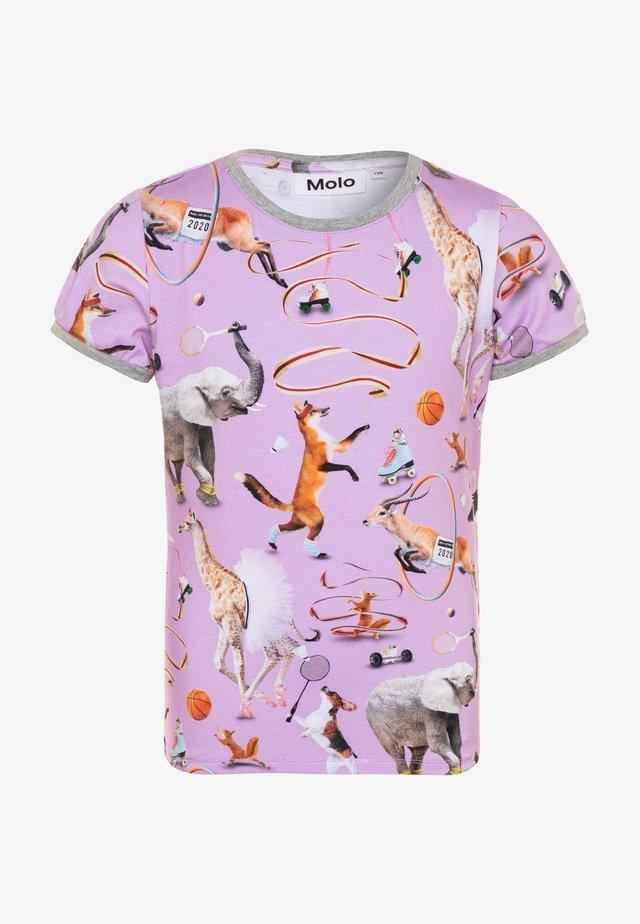 RIMONA - T-shirt z nadrukiem - lilac