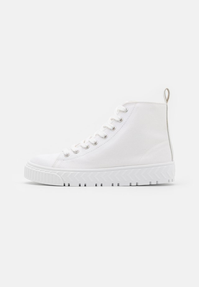 TAURUS  - High-top trainers - white