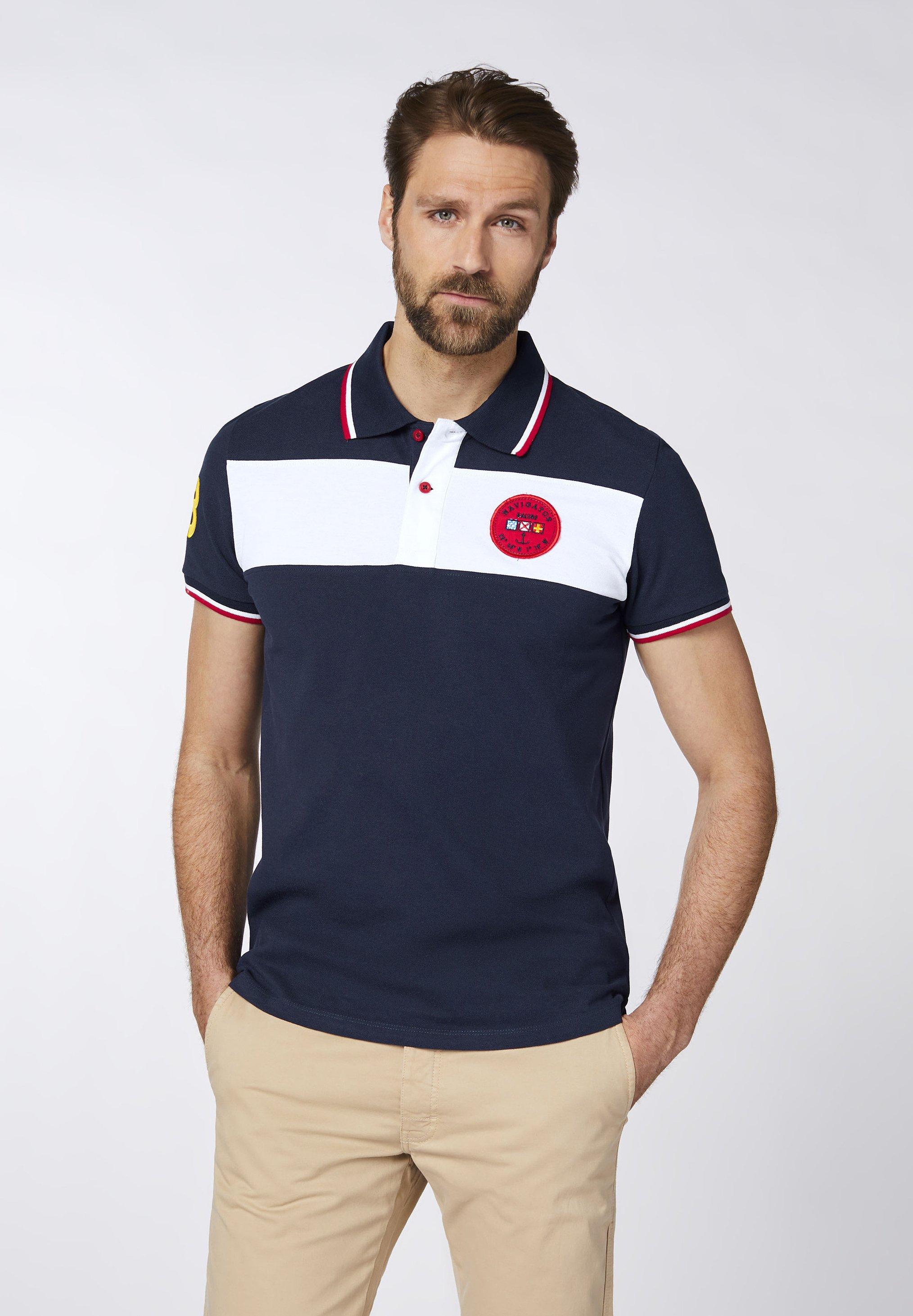 Herren MIT KLASSISCHER KNOPFLEISTE - Poloshirt