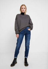 G-Star - ARC 3D LOW BOYFRIEND - Jeans Relaxed Fit - neutro stretch denim - 1