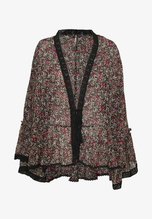 LOLA KIMONO - Summer jacket - black