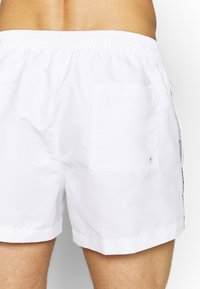 Calvin Klein Swimwear - DRAWSTRING - Plavky - white - 1