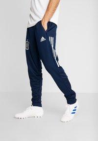 adidas Performance - SPAIN FEF TRAINING PANT - Tracksuit bottoms - collegiate navy - 0