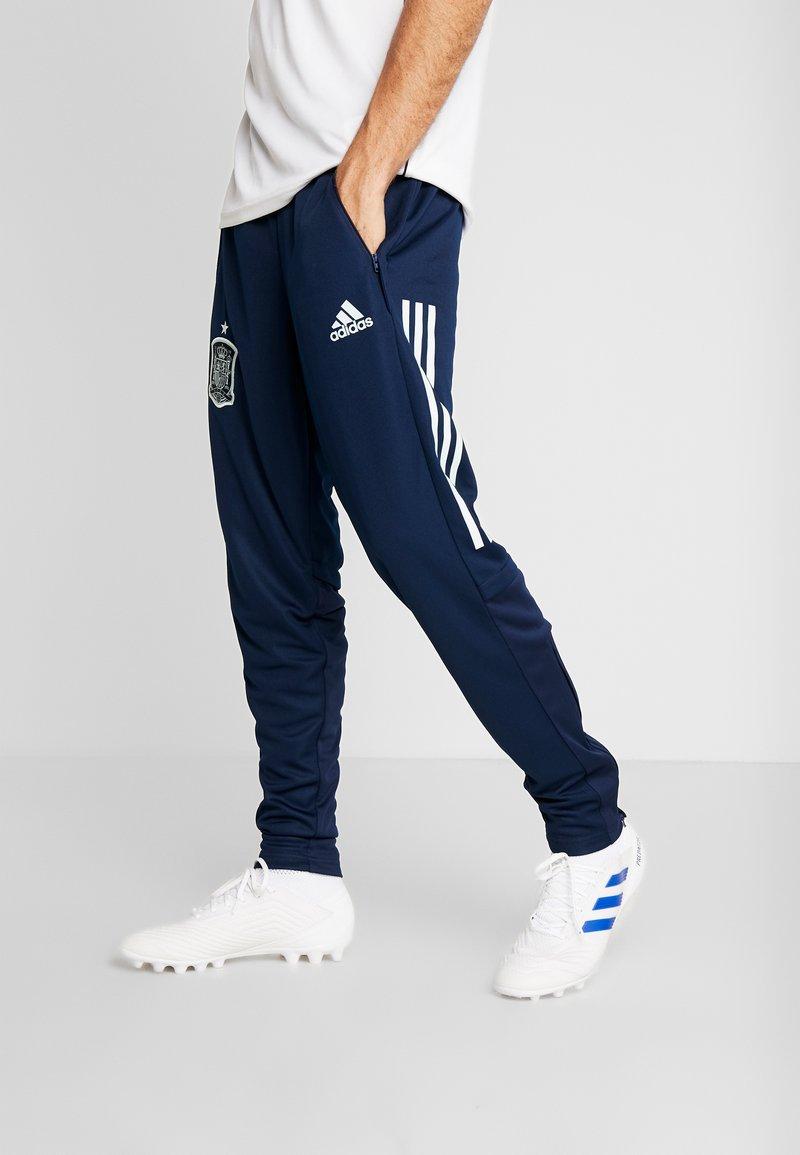 adidas Performance - SPAIN FEF TRAINING PANT - Tracksuit bottoms - collegiate navy