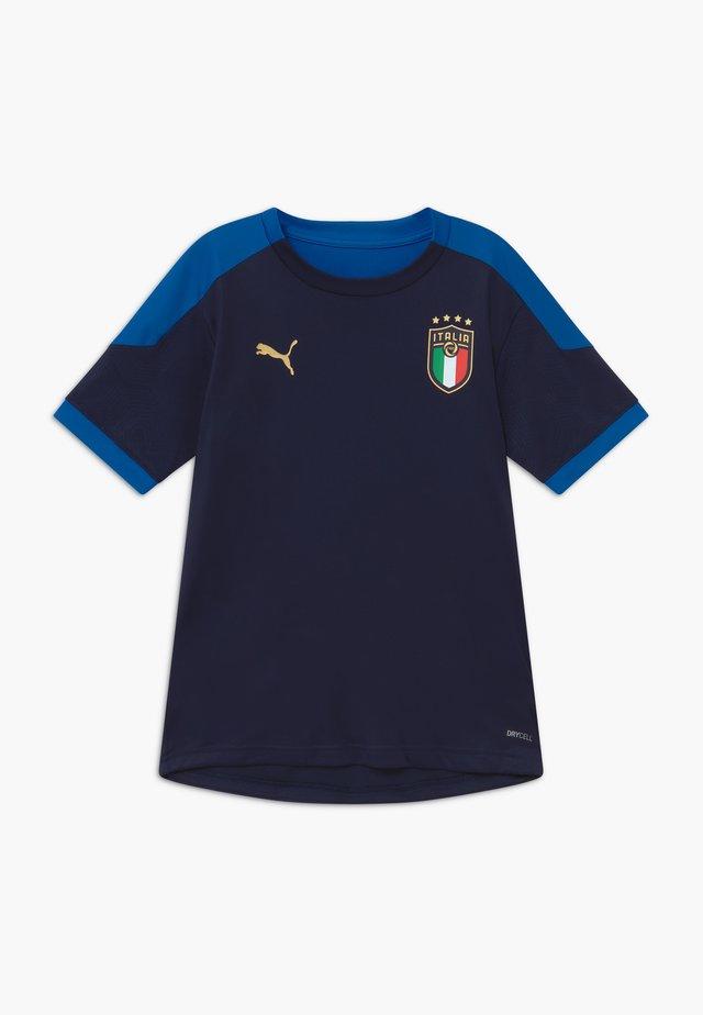 ITALIEN FIGC TRAINING SHIRT - Article de supporter - peacoat/team power blue