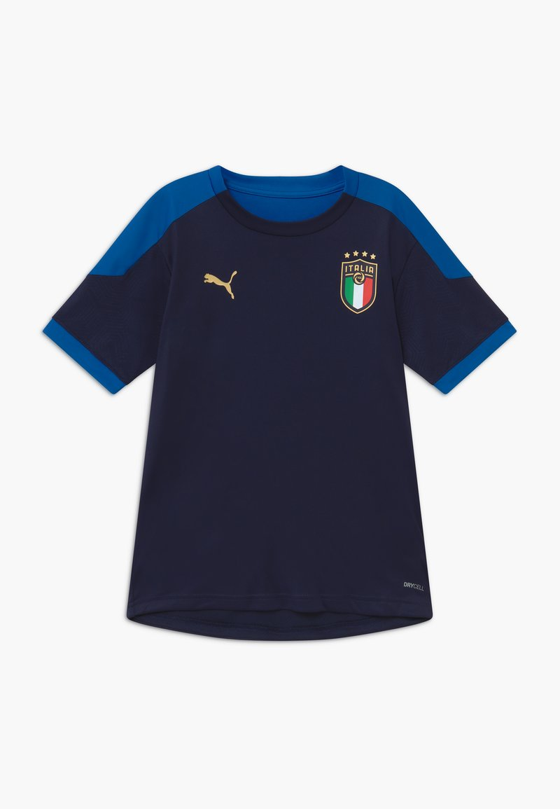 Puma - ITALIEN FIGC TRAINING SHIRT - National team wear - peacoat/team power blue