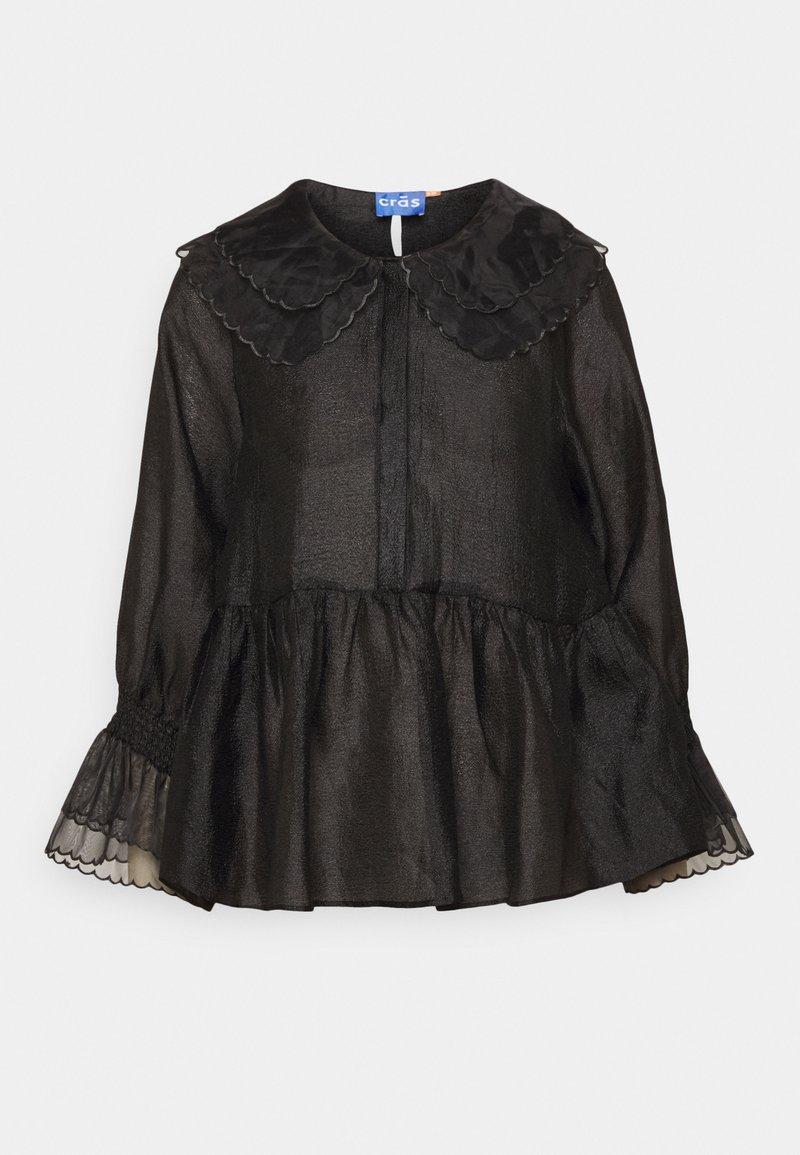 Cras - LENACRAS BLOUSE - Bluser - black
