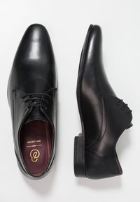 Burton Menswear London - SAMPSON DERBY - Business sko - black - 1