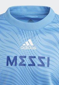 adidas Performance - MESSI T-SHIRT - T-shirt imprimé - blue - 2