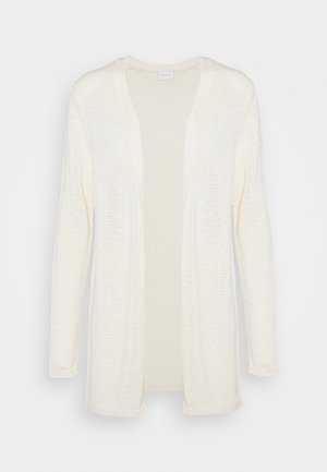 VISINOA OPEN CARDIGAN - Cardigan - white alyssum