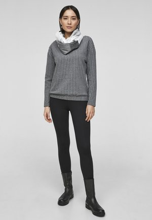 GLITZER - Snood - offwhite stripes