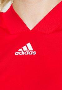 adidas Performance - TANK - Sports shirt - scarlet/signal pink - 4