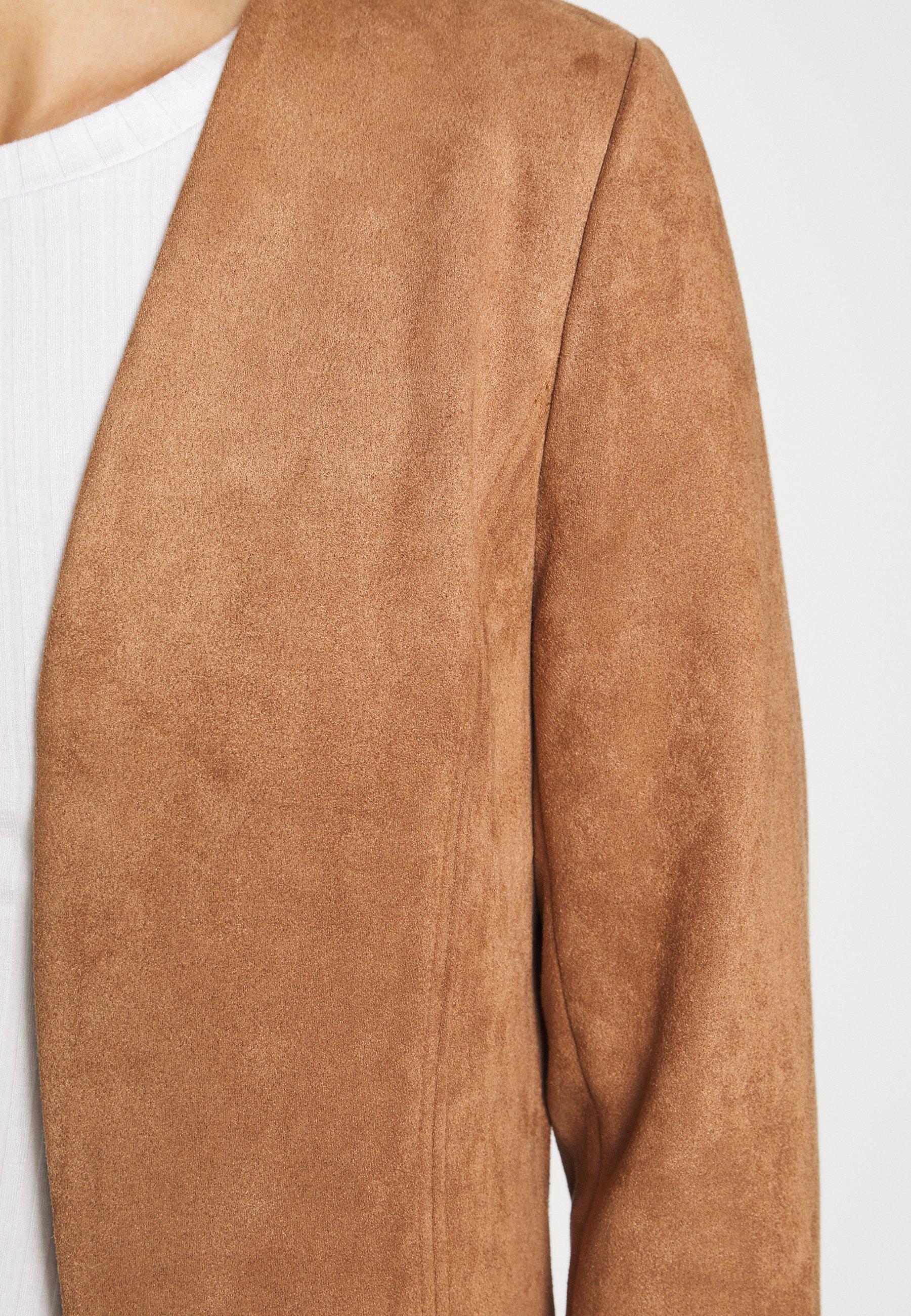 Big Sale New Lower Prices Women's Clothing comma 3/4 ARM Blazer brown aHhYxcrHy qEmOZN3Bw