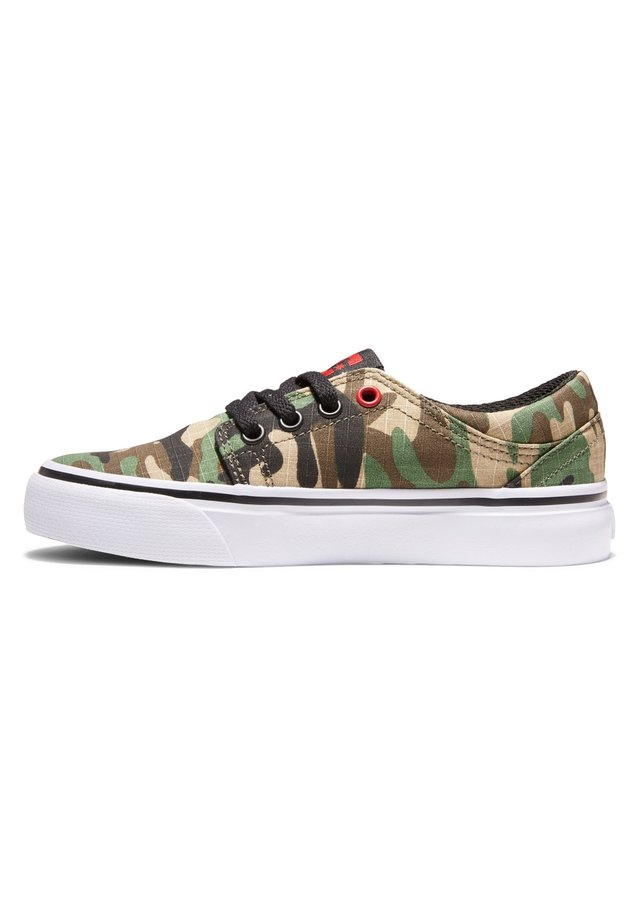 TRASE - Sneakers laag - black/camo print