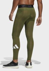 adidas Performance - TURF 3 BAR LT PRIMEGREEN TECHFIT WORKOUT COMPRESSION LEGGINGS - Leggings - green - 2