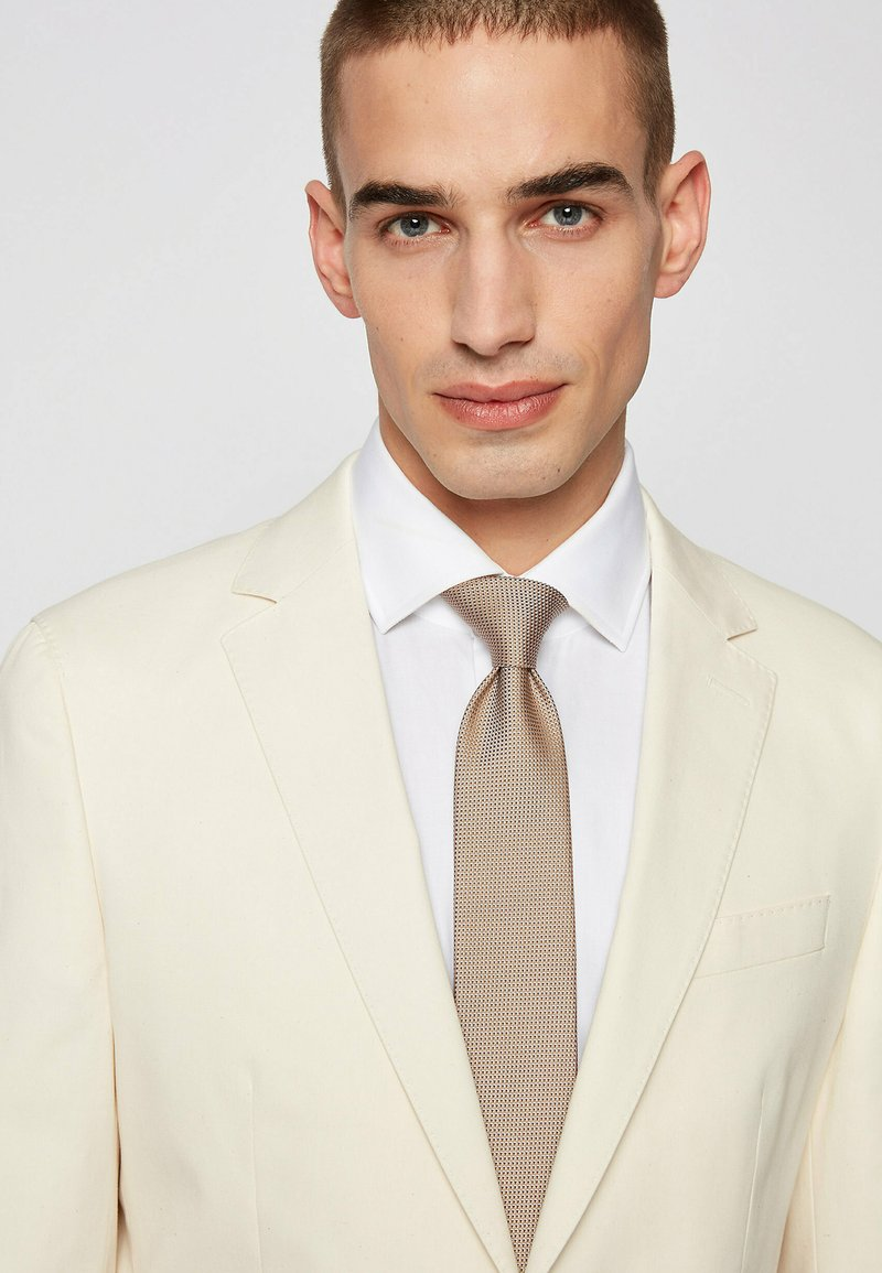 BOSS - Cravatta - beige