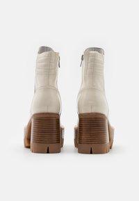Jeffrey Campbell - QUAVO  - Platform ankle boots - ice - 3