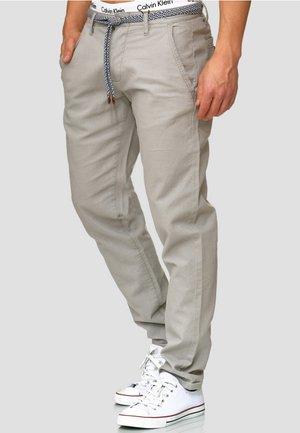 HAVER - Pantalon classique - light grey