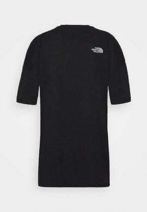 TEE DRESS - Haljina od žerseja - black
