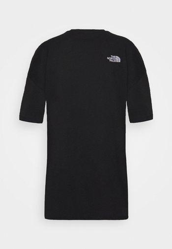 TEE DRESS - Jersey dress - black