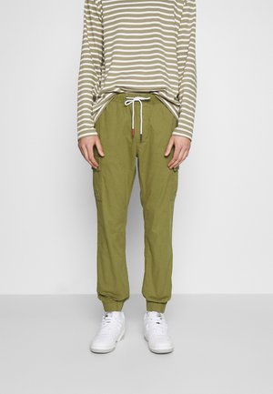 ETHAN JOGGER - Cargo trousers - uniform olive