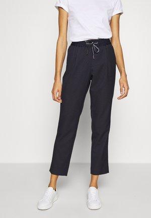 Pantaloni - navy dobby