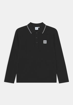 LONG SLEEVE - Poloshirt - black