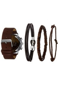 YOURTURN - SET - Watch - cognac - 2