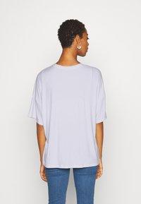 Even&Odd Tall - OVERSIZED SLOUCHY TEE - Jednoduché triko - white - 2