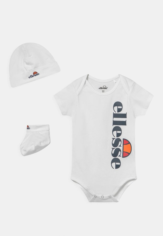 ELEANORI BABY SET UNISEX - Triko spotiskem - white