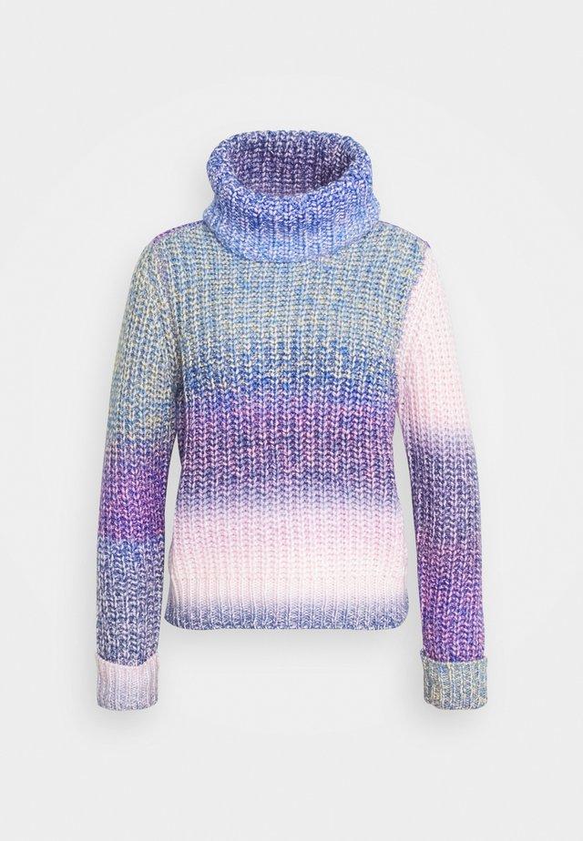 ONLSPACE ROLLNECK - Jumper - sodalite blue/lavender frost/blue