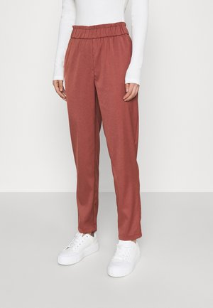 ONLNORAH FRILL PANT - Trousers - apple butter