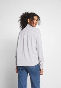 Lacoste - Button-down blouse - silver chine - 2