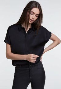 SET - Button-down blouse - black - 0