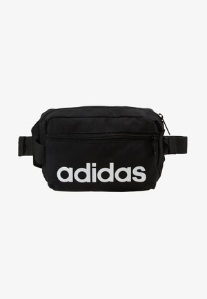 ESSENTIALS LINEAR SPORT WAISTBAG - Bæltetasker - black/white