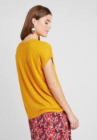 ONLY - Basic T-shirt - golden yellow - 2
