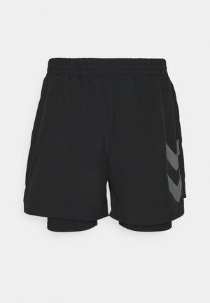 COLTON SHORTS - Urheilushortsit - black