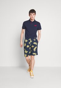 Bellfield - PULL ON FLORAL PRINT - Shorts - navy - 1