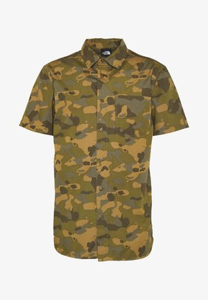 MEN'S BAYTRAIL PATTERN - Shirt - burnt olive