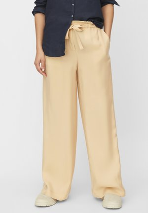 Trousers - beige, taupe
