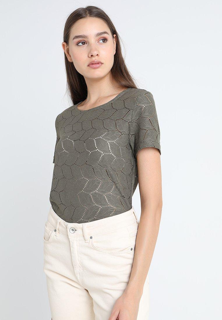 JDY - JDYTAG  - Print T-shirt - kalamata