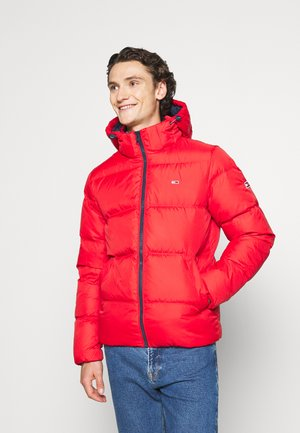 TJM ESSENTIAL DOWN JACKET - Down jacket - deep crimson