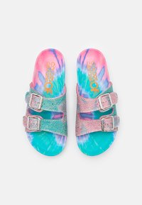 Colors of California - BIO BUCKLES IN JELLY - Pantofole - light white - 5