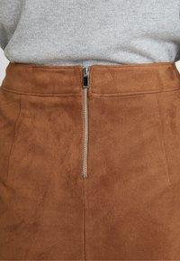 Esprit - MINI SKIRT - A-line skirt - toffee - 4