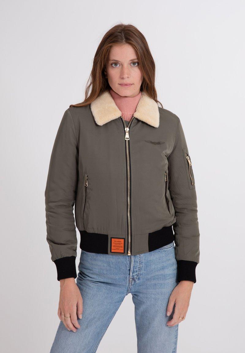 Bombers - BARCELONE - Winter jacket - khaki