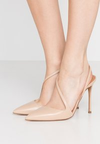 Pura Lopez - Zapatos altos - sabbia - 0