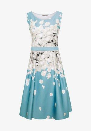 Koktejlové šaty/ šaty na párty - turquoise
